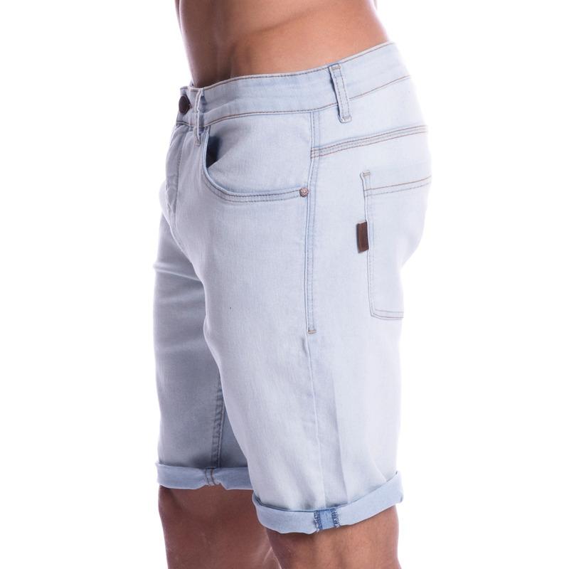 Bermuda Jeans Long Island Delavê