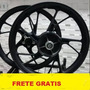 Roda Titan150/fan150/esd Preta 2016 Pé De Galinha bicos