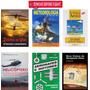 Kit Livros Para Piloto Privado Helicóptero Brinde