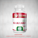 Guaraná 500mg - 60 cápsulas (guarana)