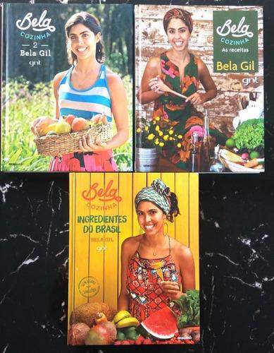 Bela Gil Cozinha 3 Primeiros Livros Culinaria Natural Vegana Original