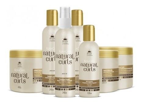 Avlon Natural Curls Kit Grande 7 Prod Tratamento P/ Cacheado Original