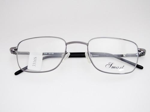 Armação Para Óculos Smart Grafite Retangular M559 Original