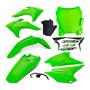 Kit Plástico Crf 230 2015 2018 Verde Plate Amx Verde