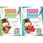 Kit Com 2 Livros 1500 Adesivos Para Professores Promoção