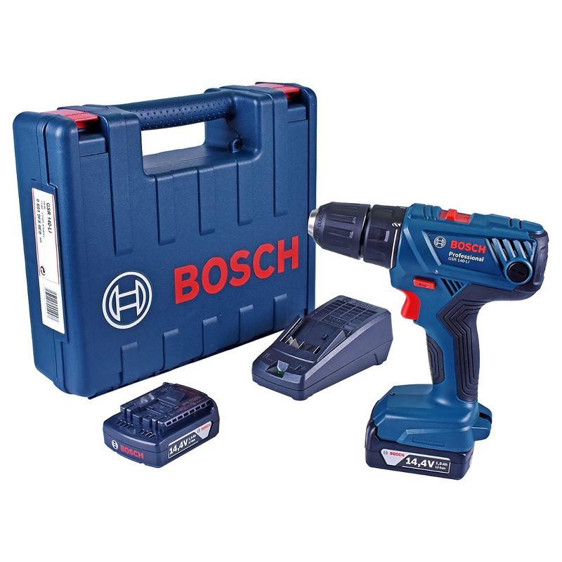 Parafusadeira/Furadeira Bosch à bateria GSR 140 LI