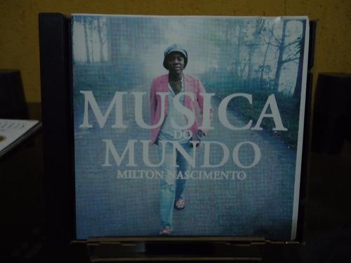 Cd Miton Nascimento - Musica Do Mundo - By Trekus Vintage Original