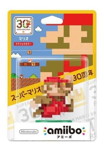 Amiibo Mario Classic Color 30th Super Mario Switch Wii U 3ds Original