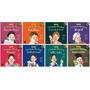 Coleção Crianças Geniais Coleção C/ 8 Livros Belíngue