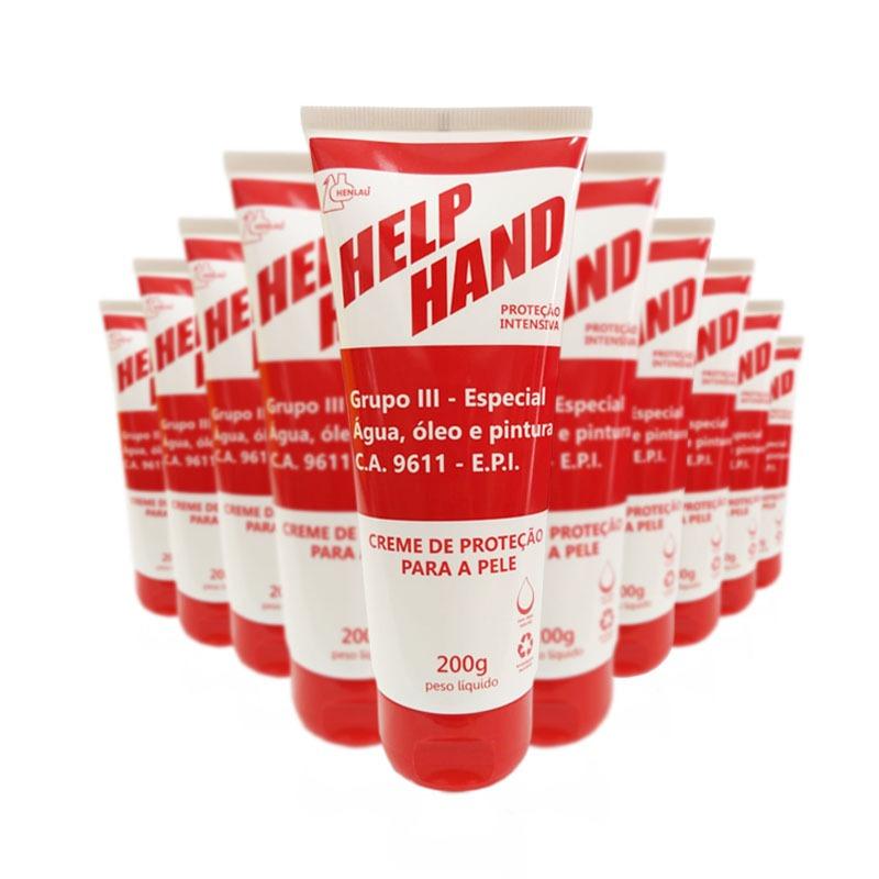 15 Creme de proteção para as mãos help hand grupo 3 200g
