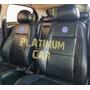 Capa Banco Carro 100% Eco Couro Volkswagen Capa De Volante