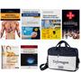 Kit Enfermagem 6 Livros Ame Cálculo Técnicas Básica Bolsa