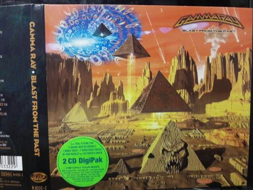 Cd Boxed  Gamma Ray Blast From The Past Importado Original