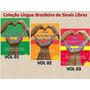 Kit Libras Livro Ilustrado Lingua Brasileira Sinais Brinde