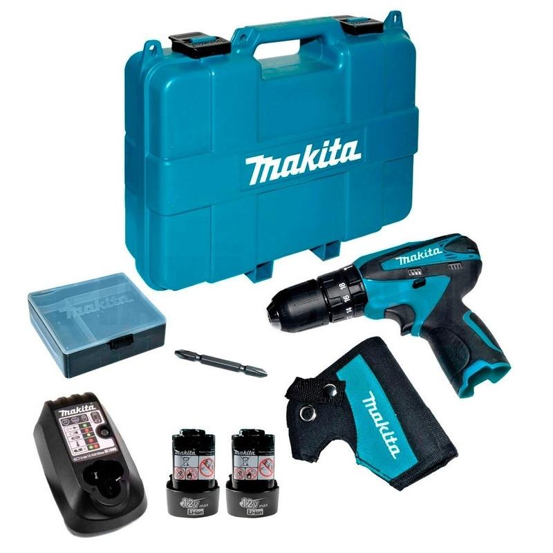 """Parafusadeira/Furadeira de Impacto Makita 10mm 3/8"""" Bivolt"""