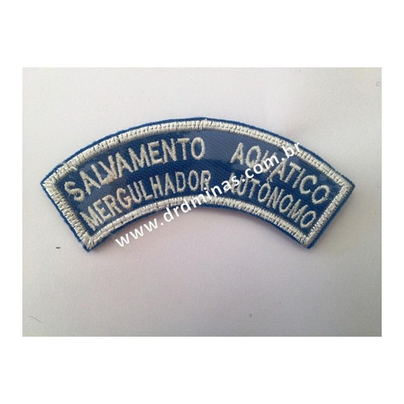 Patch / Distintivo Bordado Salv. Aquatico / Merg. Autônomo