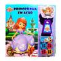 Livro Com Projetor Disney Princesinha Sofia Em Ação Melh
