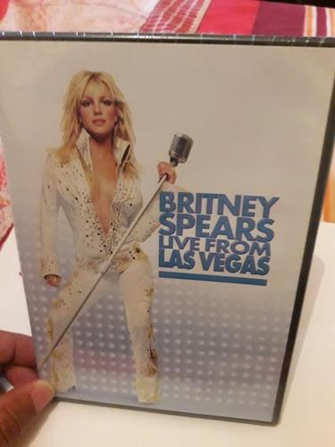 Dvd Britney Spears Live From Las Vegas Lacrado Original
