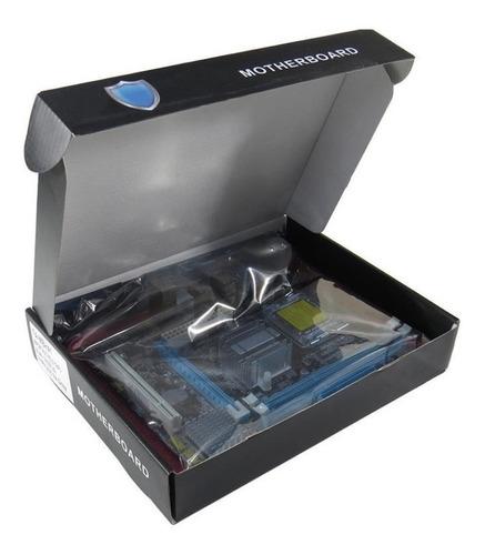 Kit Placa Mãe + Processador Core2 Duo+memória 4gb + Cooler Original