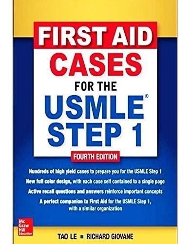 Compativel Com Celular E Pc First Aid Cases For The Usmle St Original