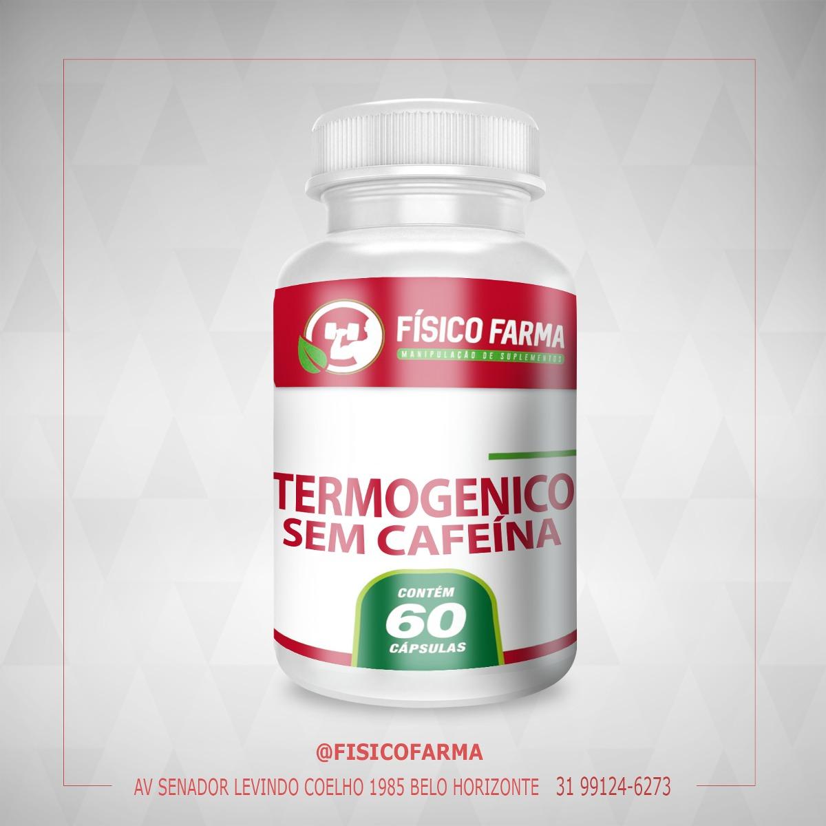 Termogênico sem Cafeína  - 60 Cáps (t...