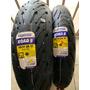 Combo Michelin 120/70 17 190/55 17 Pilot Road 5 Lançamento