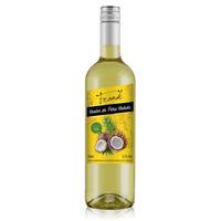 Cooler com Vinho Branco e suco Pinã Colada (Abacaxi com Côco) 750ml - Frank