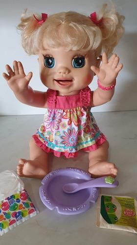 Baby Alive Brincalhona Fala Português Lindíssima Original