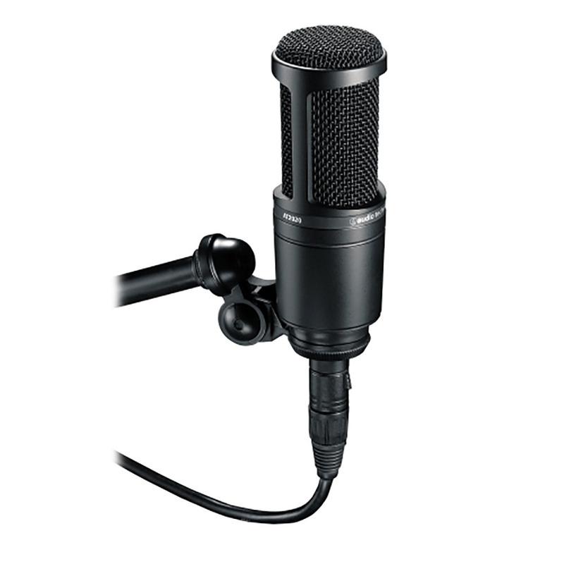 Microfone Condensador AT2020 Audio Technica Original
