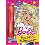 Barbie Meu Diario De Segredos Com Caneta Magica E Cadeado