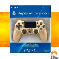 Controle Dual Shock 4 Dourado - PS4