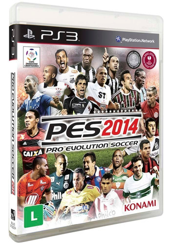 Game Ps3 Pes 2014 -  - Novo - Lacrado Original