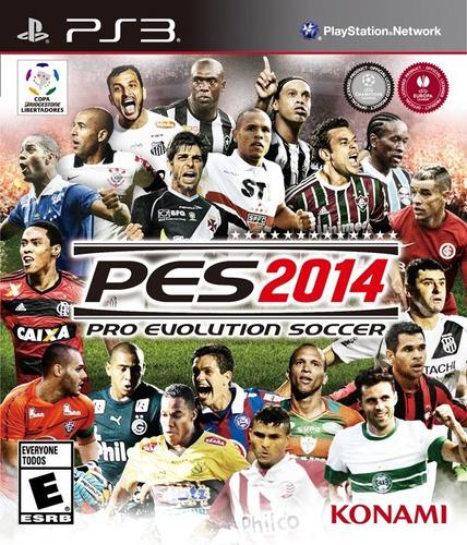 Jogo Pro Evolution Soccer 2014 Pes Ps3 Playstaiton Português Original
