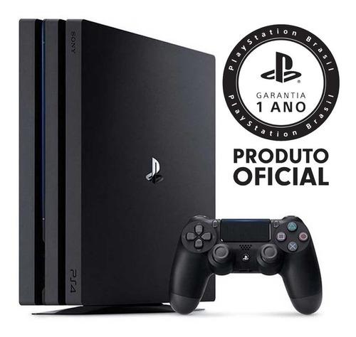 Console Playstation 4 - Pro 1 Tb - Preto Original