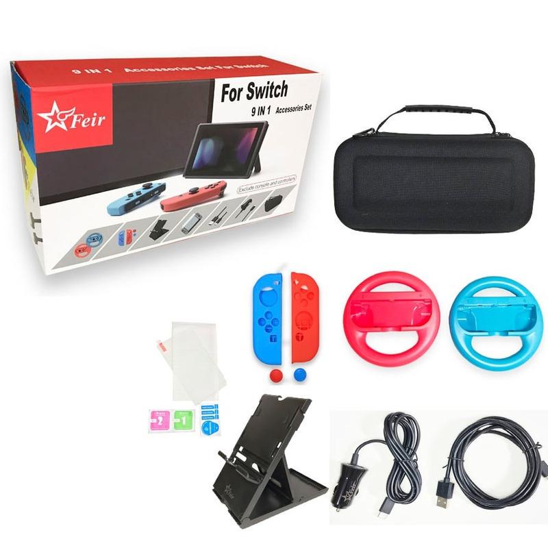 Kit 9 in 1 Feir - Nintendo Switch