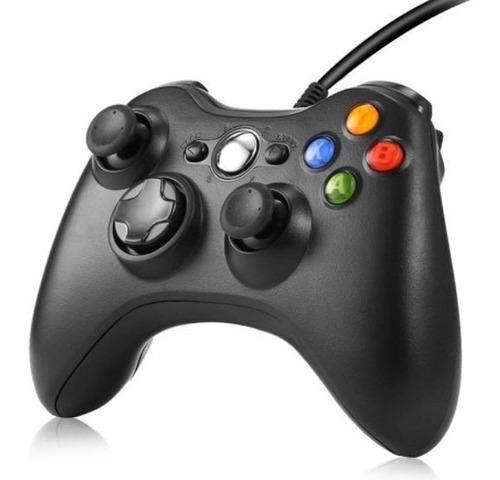 Controle Com Fio Para Xbox 360 Slim / Fat E Pc Joystick Top Original