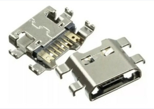 2 Conectores De Carga Dock Usb LG K10 Novo M250ds Original