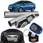 Difusor De Escapamento Esportivo Cromado Ford Fiesta