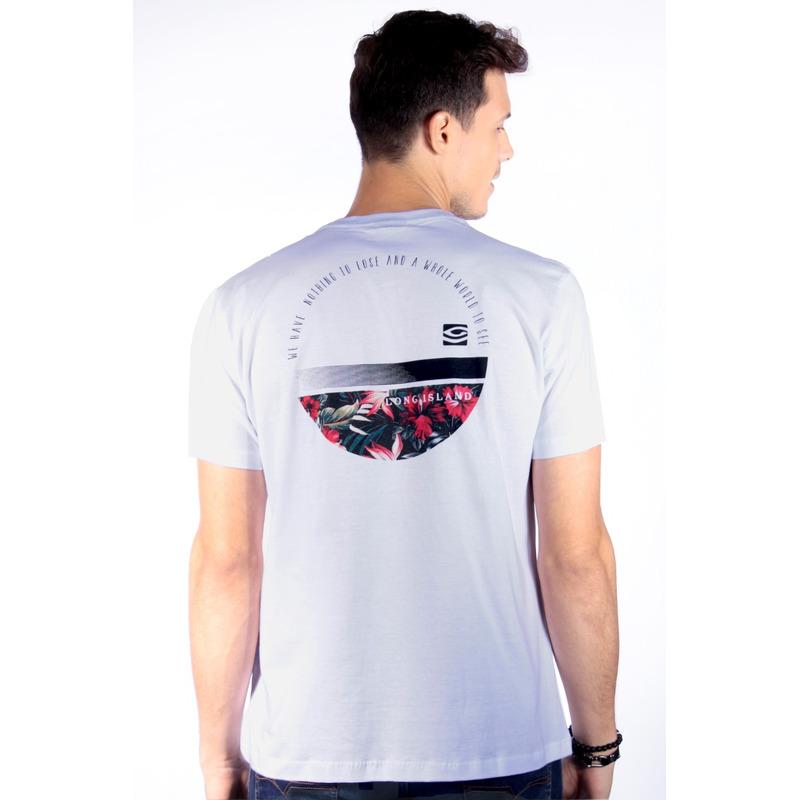 Camiseta Long Island World Branca