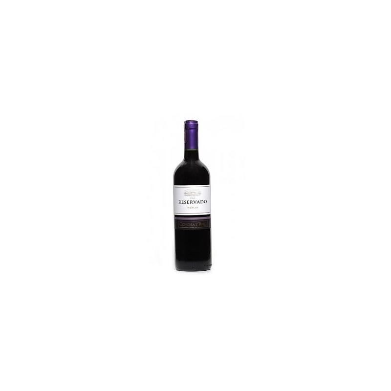 Vinho Fino Merlot Reservado 750ml - Concha y Toro