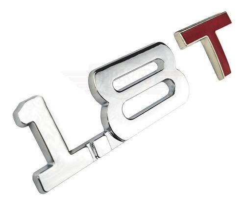 Emblema 1.8t 1.8 T Acessórios Audi A3 A4 A5 Vw Gol Golf Up Original