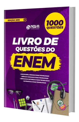 Livro 1000 Questões Comentadas Enem 2019 Original