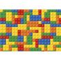Fundo Fotográfico Em Tecido Newborn Lego 2, 2x1, 5m Ffb 106