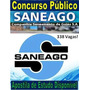 Apostila Agente Concurso Saneago 2018 ( Comentada Dvd )