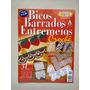 Revista Bicos Barrados Entremeios 8 Crochê Agulha Mão C305