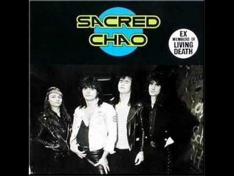 Cd Sacred Chao-st *pré Living Death Metal Alemão 80 Original