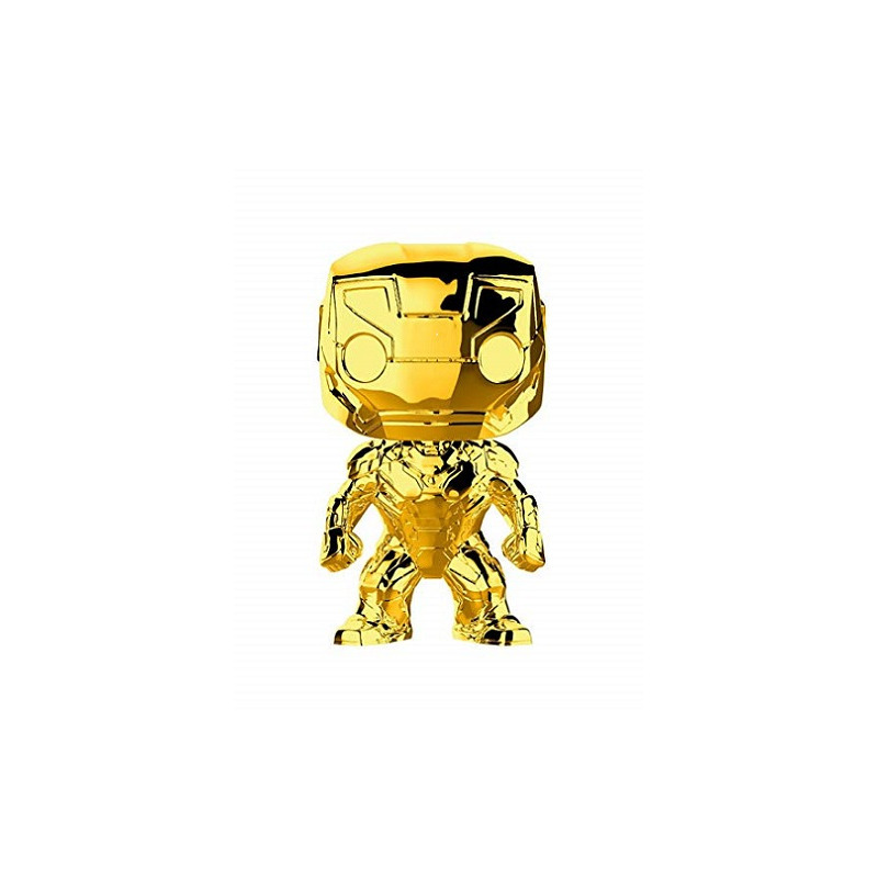 Iron Man Gold Chrome Pop Funko #375 - Marvel 10 Years Edition