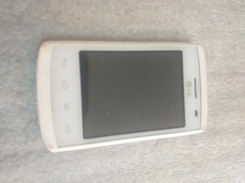 Aro Frontal C/ Touch E Lcd LG Optimus L1 E410f Usado Original