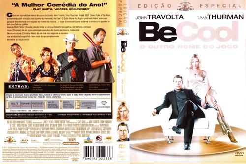 Dvd Be Cool - O Outro Nome Do Jogo (2005) Lob0003