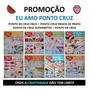 8 Revistas Eu Amo Ponto Cruz Bordados Artesanato Promoção